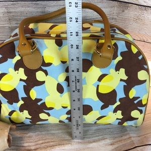 Brooklyn Industries Bags - Brooklyn Industries Yellow Camouflage Style Bag